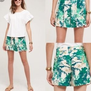 Elevenses Kadu Pleated Skort Tropical NWT Sz 8